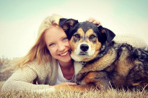 dog-and-woman